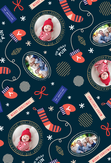 gift wrap - vintage post by Frooted Design