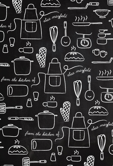 gift wrap - Kitchen Tools by Heritage and Joy