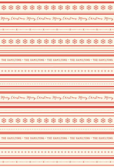 gift wrap - Candy Cane Stripes