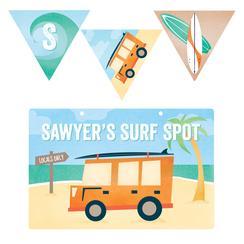 Surf Spot Room Decor
