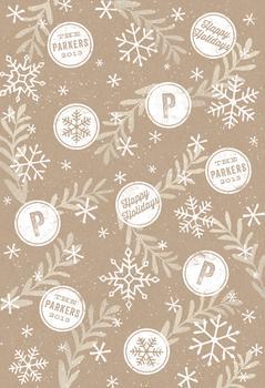 Snowflake and Stamp
