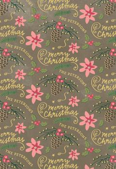 Christmas Bells are Ringing Wrap Gift Wrap