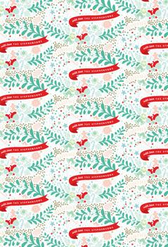 Christmas Goodies Gift Wrap