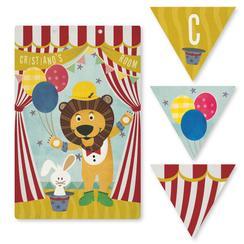 Circus surprise Room Decor