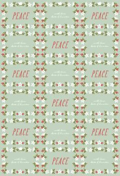 Tropical Peace Gift Wrap