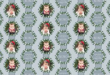 Lots of Love Mistletoe Gift Wrap
