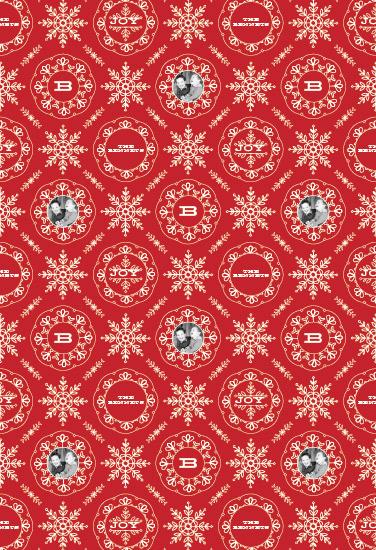 gift wrap - snowflakes tile by Aspacia Kusulas