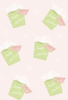 Retro Ribbon Gift Wrap