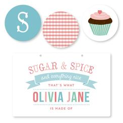 Sweet Sugar and Spice Room Decor