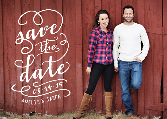 save the date cards - In the Loop