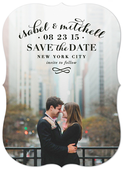 save the date cards - Classic Romance