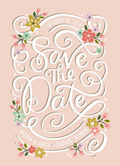 save the date cards - Storybook Script by Alethea and Ruth