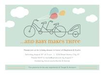 Baby Makes Three Tandem by Rachel Barnes