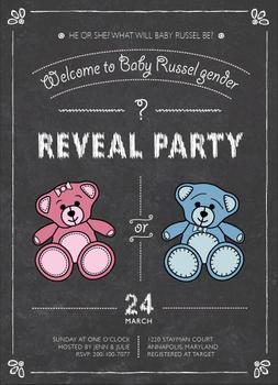 Teddy Bear Reveal