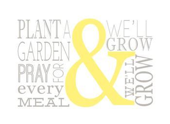 Plant Pray Grow