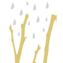 Metallic Forest - Rain