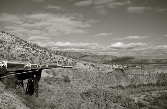 art prints - Sedona Train by Chris Beck