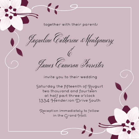 wedding invitations - Blushing Bride by Cindy Jost