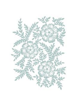 Monochrome Floral 2