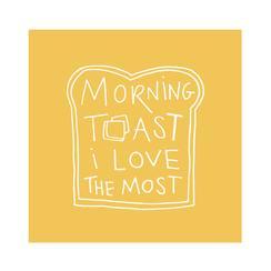 Morning Toast Art Prints