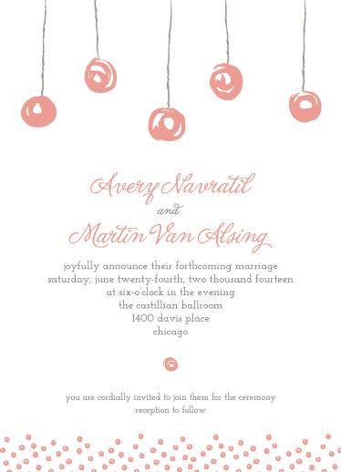 wedding invitations - Floating Lanterns