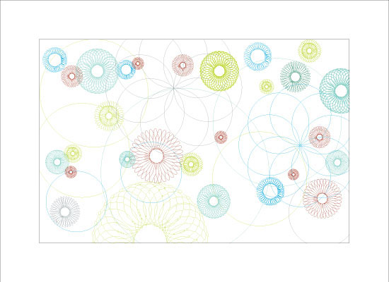 art prints - Spinning blossoms by EN Rault