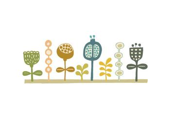 Mod Doodle Flowers