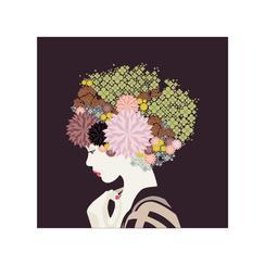 I rather wear flowers in my head