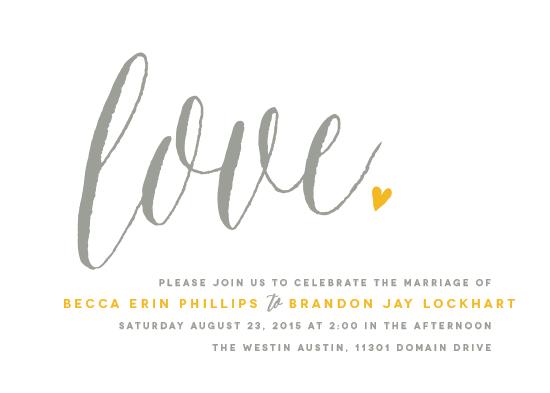 wedding invitations - Charming Love by Melanie Severin