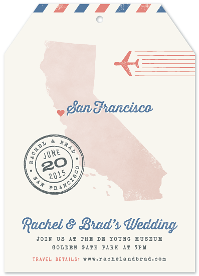 wedding invitations - Destination