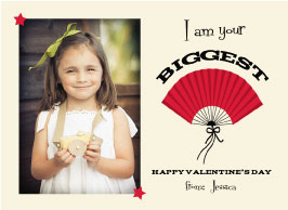 valentine's day - Biggest Fan by Cindy Jost