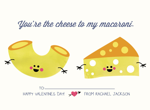 valentine's day - Mac and Cheese by Katie Zimpel