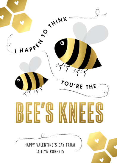 valentine's day - You're the Bee's Knees at Minted.com