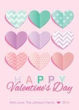 Valentine Pattern Heart... by Giovanna Santoni