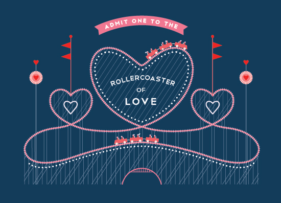 love and a roller coaster Whether you like to ride a roller coaster may depend on your personality farley suggests that, when it comes to thrill-seeking behavior, there's a spectrum of personality types at one extreme are risk-taking people who always seek out new experiences, whether the adventures involve skydiving, mountain climbing, or even coming up with new.