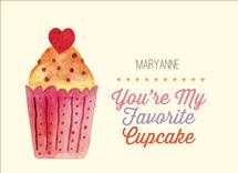 Favorite Cupcake by Sally-Ann Langley