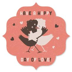 Chocolate chicklings Valentine's Day