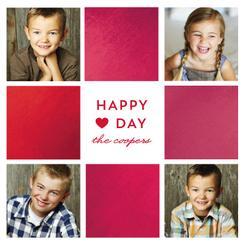 Happy Heart Day Multi Valentine's Day