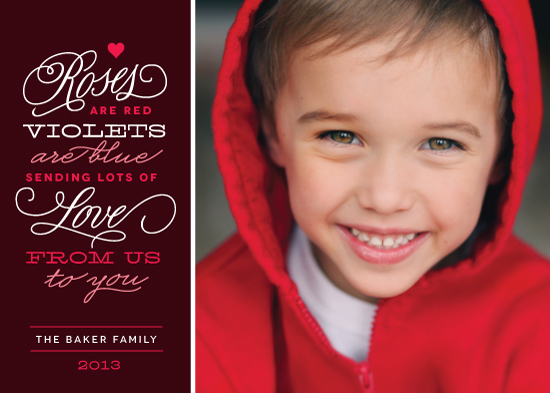 valentine's day - Roses are Red by Kristen Smith