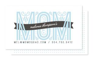 business cards - Mom Calling Card by Christina Novak