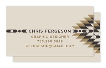 Modern Tribal Business Cards