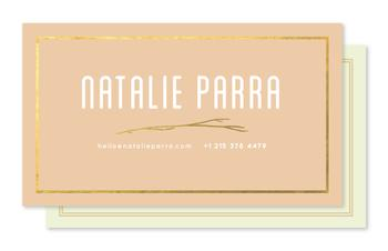 Golden Twig Business Cards