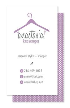 Fashion hangups Business Cards
