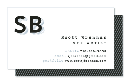 business cards - Simply Bold