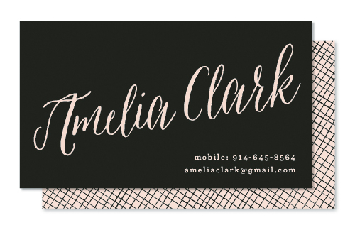 business cards - Name to Remember