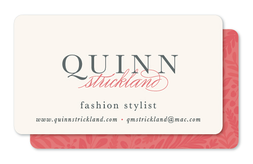 business cards - In Style