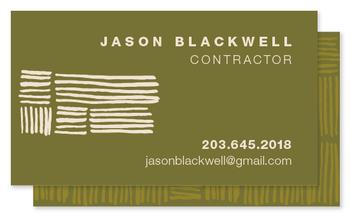 Modern Weave Business Cards