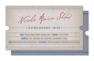 Jeans Style Business Cards