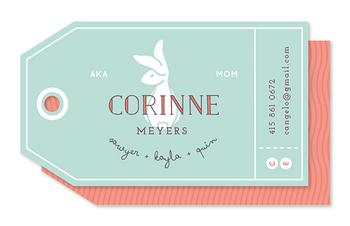 Praline Bunny Business Cards