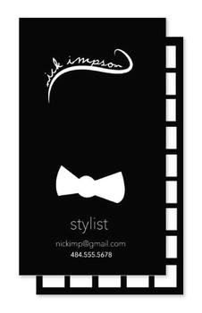 Bows and Ties Business Cards